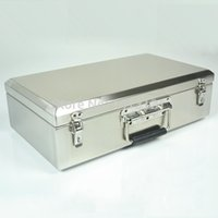 Wholesale portable stainless steel toolcase home storage box Tools Packaging