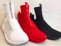 Wholesale Black white red Athletic Outdoor Shoes x Rihanna Fenty Trainer High Running shoes FENTY x by Rihanna Fenty Trainer Sport Boot