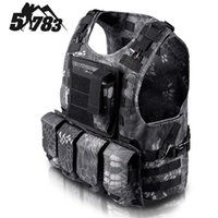 Wholesale Brand FSBE Vest Hunting Army CS Paintball Go Airsoft Tactical Military Molle Combat Assault Carrier Vest Colete tatico