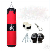 Wholesale New TOP QUALITY buy get free M empty fitness speed training MMA Thai sparring boxing kickboxing sand punching bag sandbag