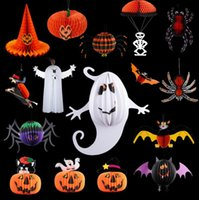 Wholesale Christmas decoration supplies props bar skeleton ghost witch spider parachute Charm Strap HJIA823