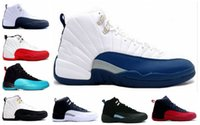 Cheap 2016 Cheap Basketball retro 12 men basketball shoes TAXI Playoff sport sneaker shoes For hot online sale us size 7-13 Free shipping