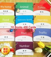 alphabet book set - Set of Books Cards Chinese Mandarin Characters Cards Book Learning English Chinese Booklet For Kids Baby Age to