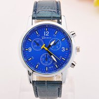 Wholesale DHL Watches manufacturers selling men s belt in Geneva watches Ms eye six stitches fashion movement quartz watch