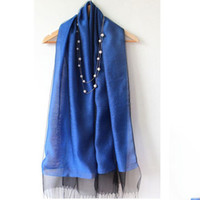 Wholesale 10 Color Double Dect Silk Scarf street poncho shawls and scarves Warmful Pashmina kerchief Women Cape European and American fashion