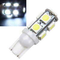Wholesale 1Pcs T10 SMD White Car W5W SMD Light Automobile Bulbs Lamp Wedge Interior V LED Light HA10687