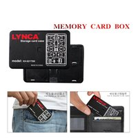 Wholesale New All in One Ultra thin Memory SD Card Storage Boxes Credit Card Size Slim SIM TF Nano Card Case Holder Protector DHL