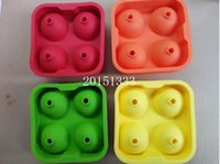 Wholesale Bar Drink Whiskey Sphere Big Round Ball Ice Brick Cube Maker Tray Mold Mould