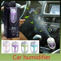 Wholesale 100Pcs Aroma Car Air Humidifier Portable Personal Car Humidifier Filling Head Charging Car Mini Air Purifier Colors C090
