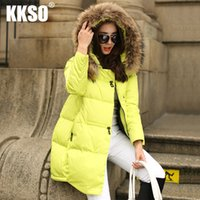 animal crossing hats - 2016 Plus Size Down Jacket Hooded White Duck Down Winter Jacket Women monclearing Fur collar parka coat camperas mujer abrigo