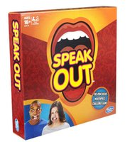 Wholesale Speak out Game Baby Toys Interesting Party Game for Halloween Christmas kids birthday gift