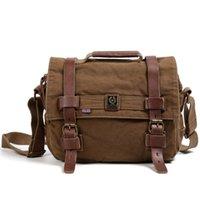 Wholesale 2016 Hot Sale tsd vintage men messenger bags canvas shoulder bag men business bag printing travel bag