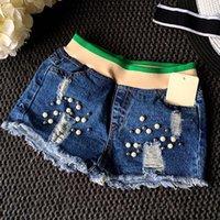 Cheap Girl Dress Fashion Jean Shorts Kids Pants Children Clothes Kids Clothing 2016 Denim Shorts Girls Summer Shorts Ripped Jeans Lovekiss C25531