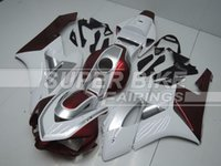 Wholesale New Fitment Guarantee motorcycle ABS Fairing Kit set Fit HONDA CBR1000RR CBR1000 Custom Design red white silver color
