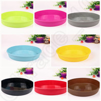 Wholesale 200PCS MMA37 Round Silicone Pizza Pan for Baking Wedding Cake Pizza Pie Bread Loaf for Microwave Oven