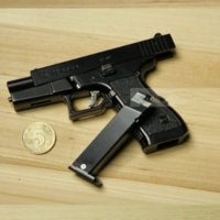 Wholesale glock pistol model G22 type G17 all metal G18 removable cannot launch