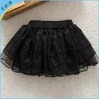 Wholesale 5 colors christmas tutu skirts baby infant organza skirt kids plain color ruffle petti skirt birthday dress princess skirts