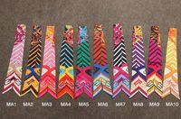 Cheap Headband twilly scarf Best Fashion Check, Plaid & Tartan colorful twilly scarf handbag decoration