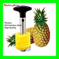pineapple cutter - 3 Different Quality Pineapple Slicers Peelers Cutters Pineapple Paring Knife Stainless Steel Kitchen Fruit Tools Gadgets