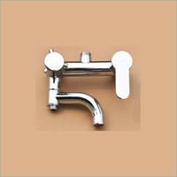 Wholesale single holder dual control brass bathtub tap wall mount bathroom shower tap Shower mixing faucet J14854
