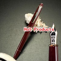 Wholesale High Quality Iridium Nib Fountain Pen Red Office Supplies School Series Pens For Gift