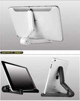 Cheap Cell Phone Holder For Desk Bracket Suitable For iPadair2 3 4 Tablet Folding Stand Tablets Small Convenience iPadmini Mounts