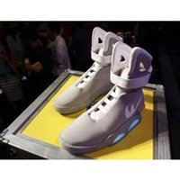air star lighting - Air Mag Men Limited Edition Back To The Future Top McFly Mags ST Basketball Shoes With LED Lights Battery Charging Fashion Outdoor Shoe