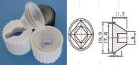 Wholesale Sale Plastic Fresnel Lens Diameter mm Black Holder Degree Led Lenses Reflector Collimator for w w w Light