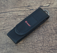 belt knife sheath - Ganzo Folding Knife Nylon Sheath Pouch Case Elastic w Belt Loop Knife Accessory