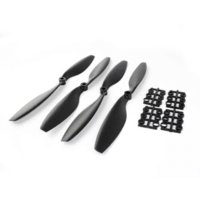 apc motors - Practical Black Pairs Carbon Nylon x4 quot R CW CCW Propeller for DJI F450 F550 FPV APC