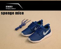 baby shoes london - 2016 Roshes London Olympic running shoes girls shoes light soft Children s lightweight breathable shoes toddlers sneakers Blue baby shoes