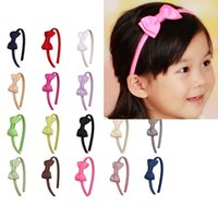 amazon baby gift - baby girl Hair hoop colorful Bow hair Accessories for children toddler teens amazon extra gift bestselling