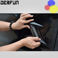 air flow - New Arrive Car Auto Racing Air Flow Fender Mesh Black Side Decoration Vent Sticker M Tape