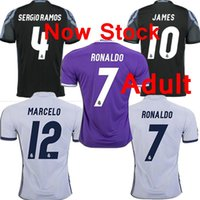 Wholesale Free ship Top best thailand Real madrid jersey home away third black MODRIC BENZEMA RONALDO MARCELO SERGIO RAMOS jersey