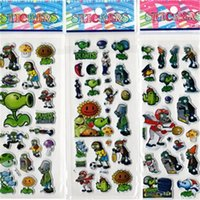 animation bubbles - 10pcs Factory direct sale children stickers cartoon animation stereo bubble stickers kindergarten Awards EVA bubble stickers