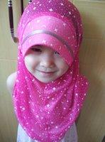 Wholesale girl muslim modal scarf girl fancy muslim scarf girl hijabs scarf hood