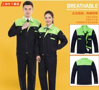 auto insurance service - 2016 new long sleeved work clothes suits men and women workshop maintenance garage overalls factory clothes suit labor insurance service