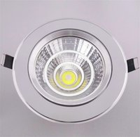 Cheap 2016 High grade CREE 5W 9W 12W 15W Dimmable COB LED Downlights Warm Natural white Fixture Cabinet Recessed Ceiling Down Lights Lamps ED004