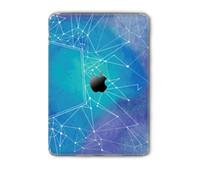 Wholesale Hot Sale Tablet M Vinyl Material Sticker for iPad Backside Full Skin Retro Worldmap Painting Print Decal for Apple iPad Air Mini Pro