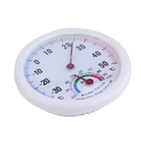 Wholesale TS TH108 Indoor Healthy Thermometer Mini Home Hygrometer White Plastic Case Humidity Thermometer