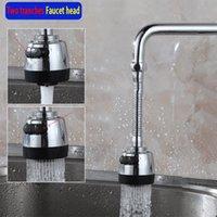 Wholesale 360 Degree Water Bubbler Swivel Head Saving Tap Faucet Aerator Diffuser Nozzle Filter Mesh Adapter Kitchen faucet Showerhead
