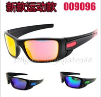 Wholesale New Fashion men s women s black frame Bicycle Glass sun glasses fuel cell sunglasses