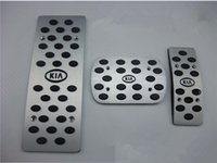 Wholesale Hot high quality aluminum skid accelerator pedals AT automatic transmission for KIA K2