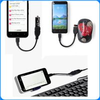 android pda phone - Micro USB Cable Male Host to USB Female OTG Adapter Android Tablet Phone PDA PC DHL