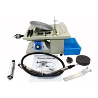 Wholesale 220V Job Site Portable Mini Little Table Saw Multi functional Jade Carving Machine Grinding Polishing Machine DIY Tool