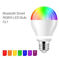 applications lighting control - 600LM E26 E27 LED Bluetooth BULB Light Smart RGB Warm White Million Colors Adjustable Smartphone Application Control