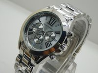 Wholesale 2018 New luxury MICHAEL fashion Michael Stainless Steel Men s Watch with packaging km