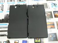 achat en gros de xperia cas z caoutchouc-Étui en caoutchouc souple en TPU pour Sony Xperia Z L36H C6602