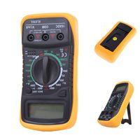 Wholesale High Quality Digital LCD Multimeter Voltmeter Ammeter AC DC OHM Volt Tester Test Current Shipping