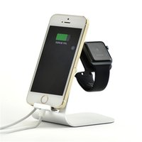 Wholesale Universal in Aluminum Holder Charger Dock Station For i watch apple watch iPhone plus For iPad Samsung S7